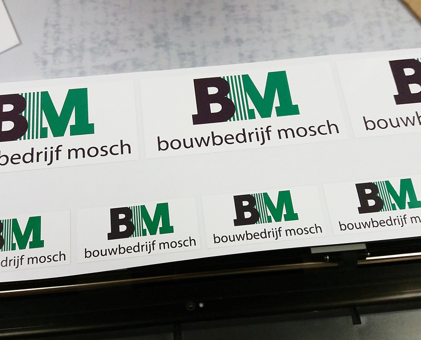 515 Signs stickers Bouwbedrijf Mosch