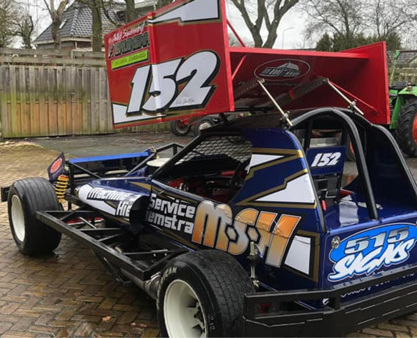 515 Signs Stockcar belettering
